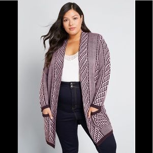 MODCLOTH STANDOUT CARDIGAN